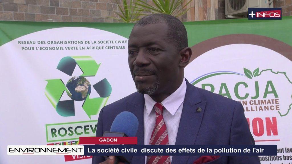 GABON: La société civile discute des effets de la pollution de l'air
