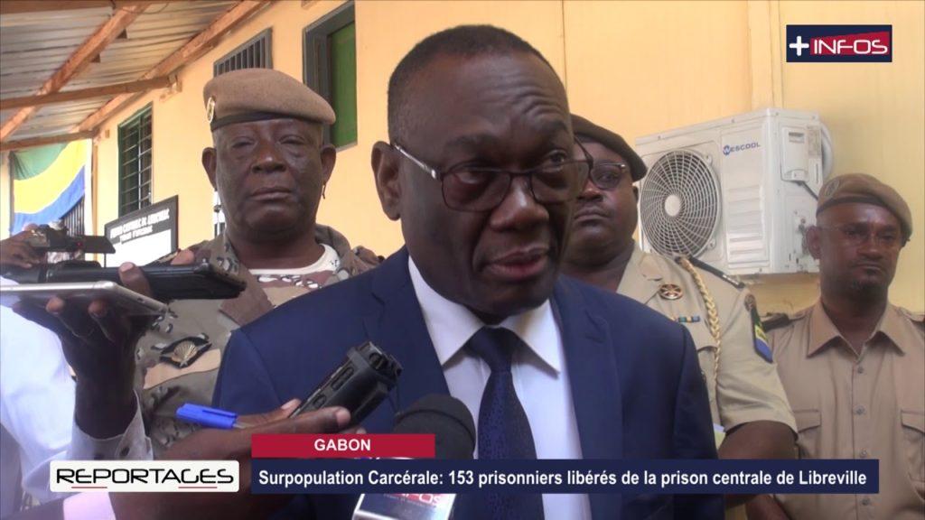 Surpopulation Carcérale: 153 prisonniers libérés de la prison centrale de Libreville