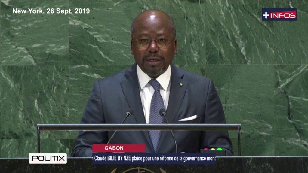 BILIE BY NZE plaide pour une réforme de la gouvernance mondiale à la 74e session de l'ONU