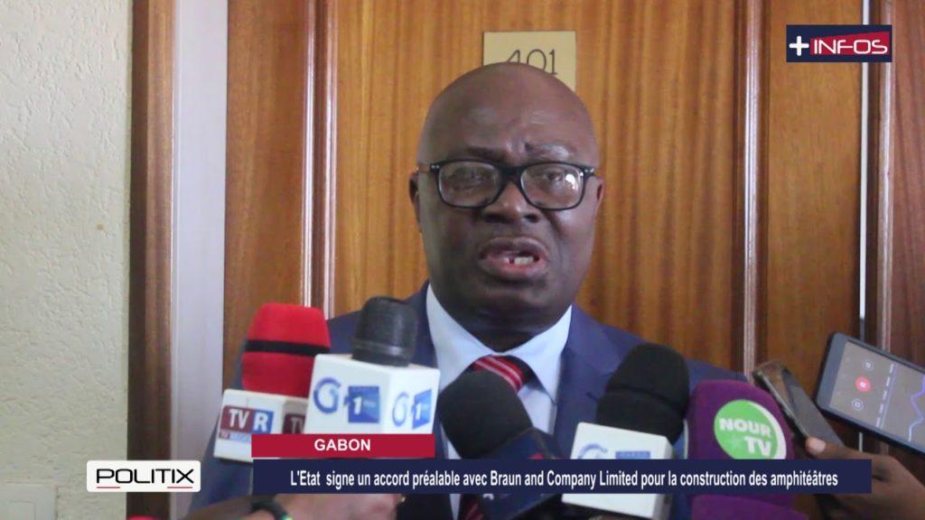 Gabon: L'Etat signe un accord préalable avec B&C Limited pour la construction des amphitéâtres