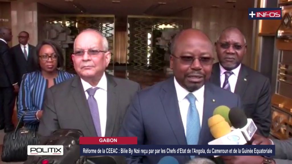 Réformes de la CEEAC: Alain Claude Bilie By Nzé reçu par trois(3) Chefs d'Etat de la sous-région
