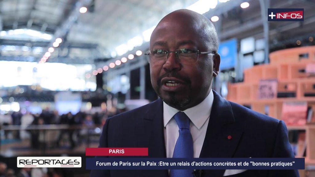 Forum de Paris sur la paix: BILIE BY NZE représente le Gabon