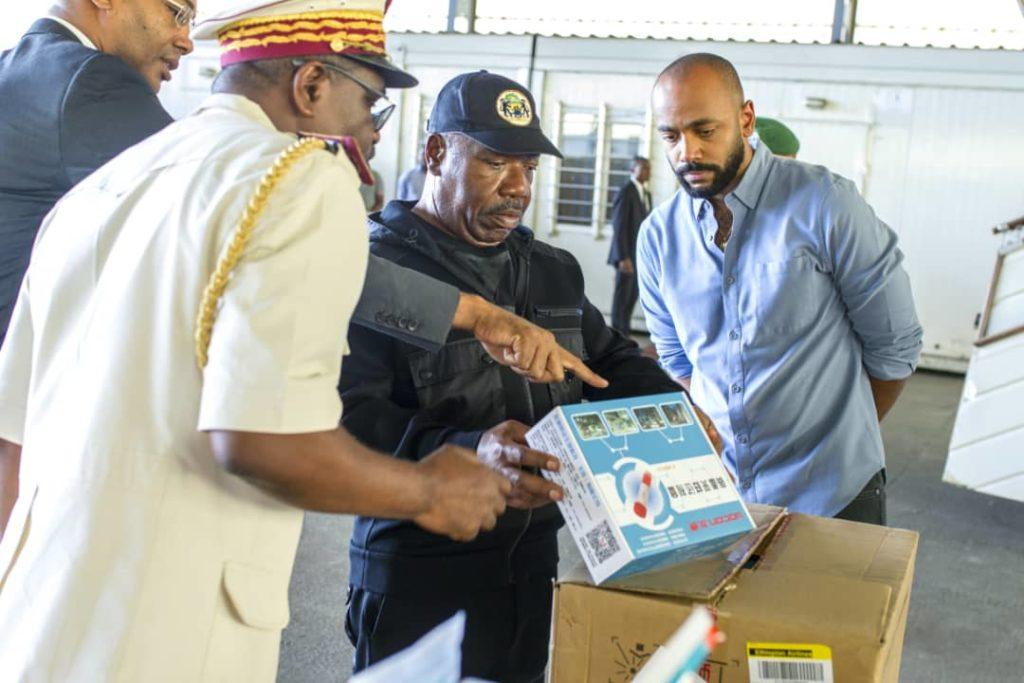 Riposte contre le covid19: Le Gabon réceptionne sa commande de matériel médical