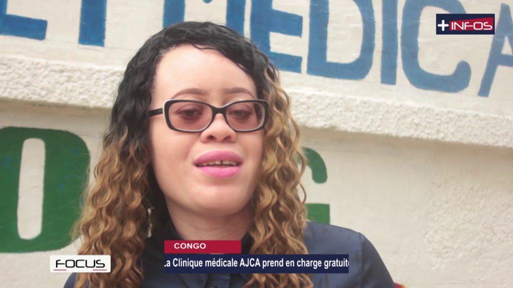 La Clinique médicale AJCA prend en charge gratuitement les Albinos de Brazzaville