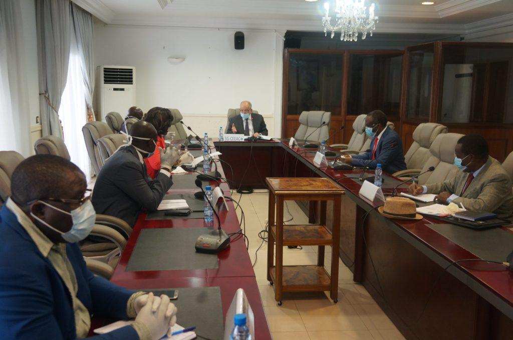 CEEAC/Secrétariat général : 2ème Réunion de crise sur le COVID-19 et ses impacts