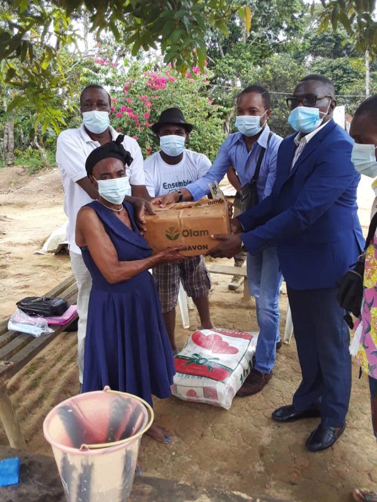 Covid-19: les populations rurales de Bikondom soulagées par le ROSCEVAC