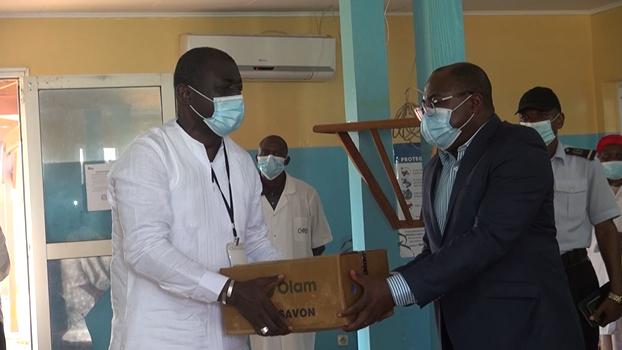 Gabon-COVID19:LeROSCEVAC solidaire aux populations de la NGOUNIE
