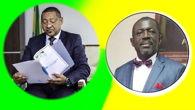 Nicaise Moulombi transmet au ministre de l'économie et des finances le rapport de la revue de l'audit des états financiers du PESISE
