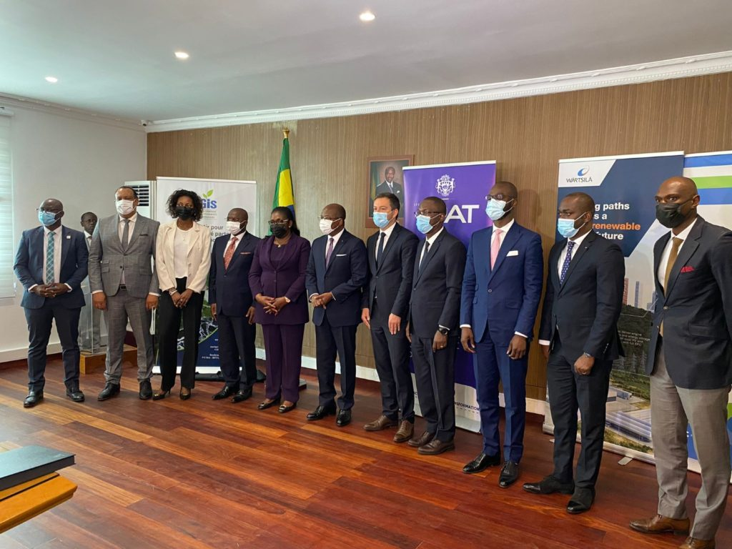 Le Gabon et  Wärtsilä signe une convention de concession pour la construction d'une centrale thermique